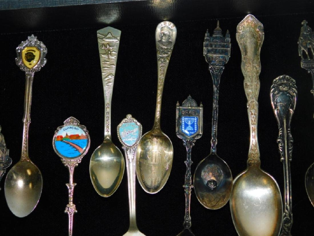 COLLECTION OF SOVEREIGN SPOONS - 4