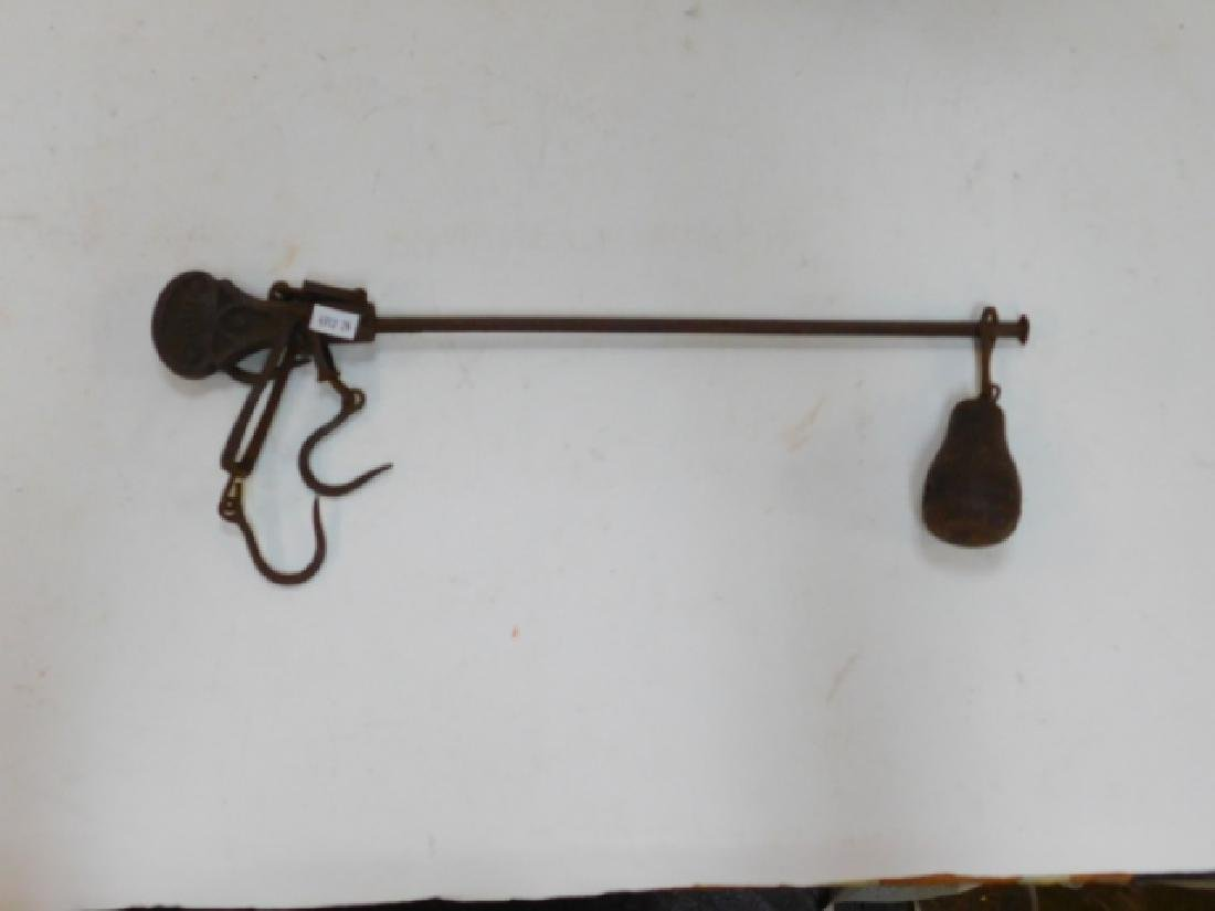 CAST IRON HANGING BEAM SCALE