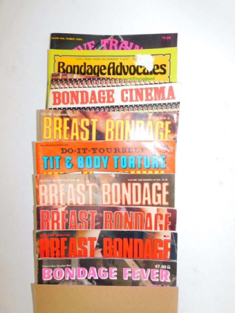 COLLECTION OF X-RATED MAGAZINES