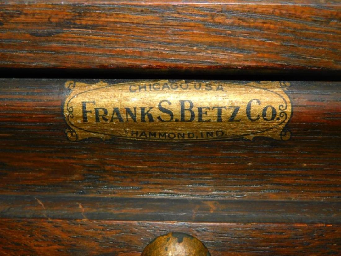 FRANK S BETZ DENTAL CABINET - 2
