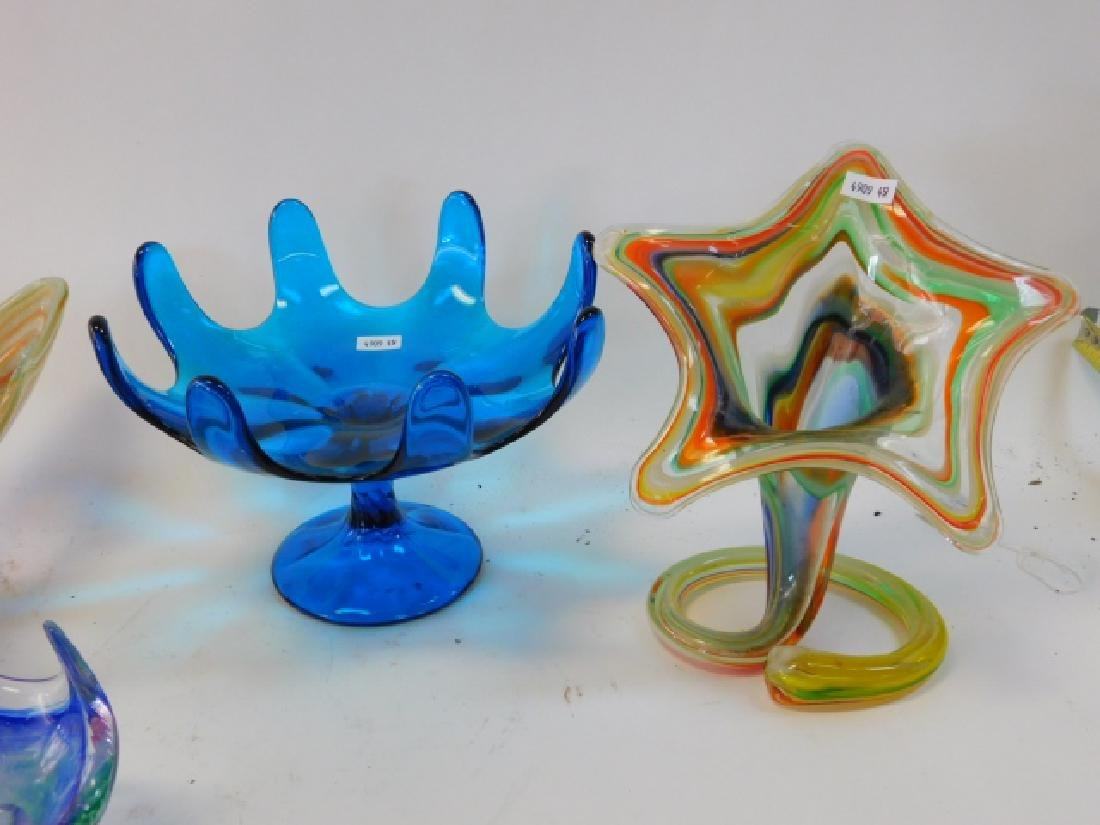ART GLASS VASES AND BOWLS - 2