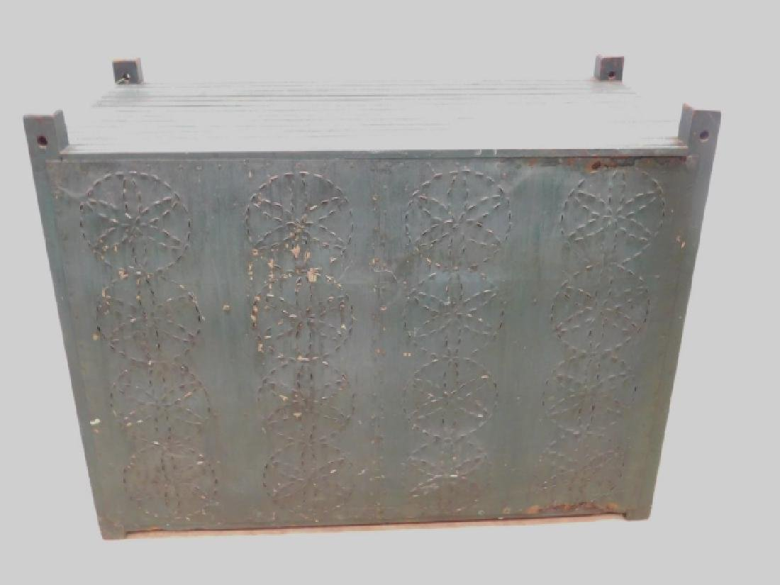 TIN PANELED HANGING PIE SAFE - 7