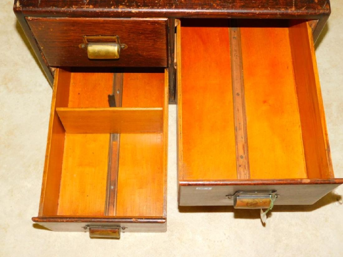 WOODEN FILE BOX - 3