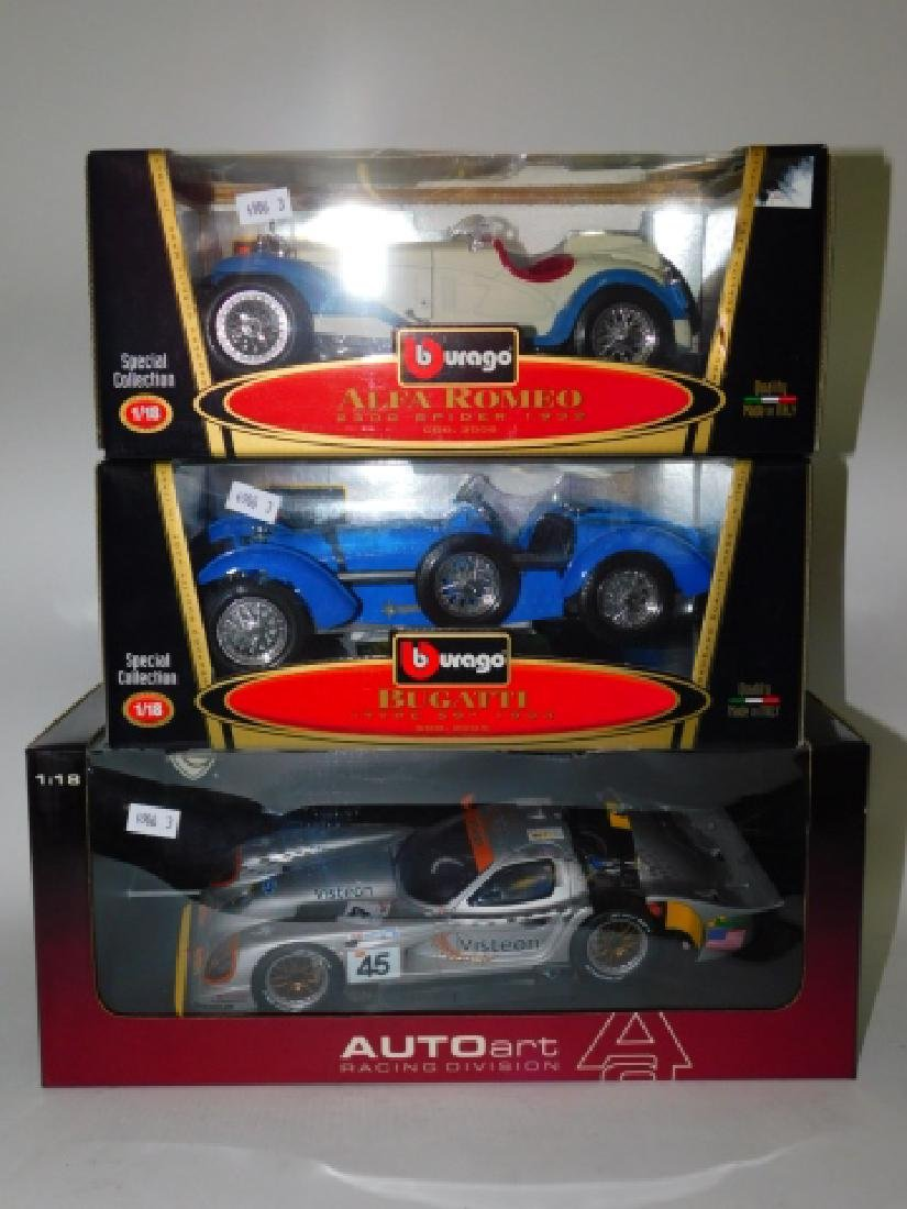 LOT OF THREE MODEL CARS