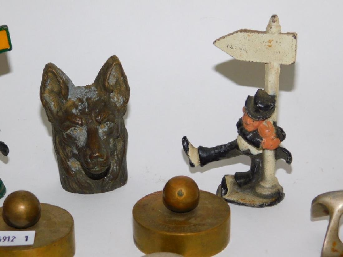 COLLLECTION IRON FIGURES AND COKE ITEM - 5