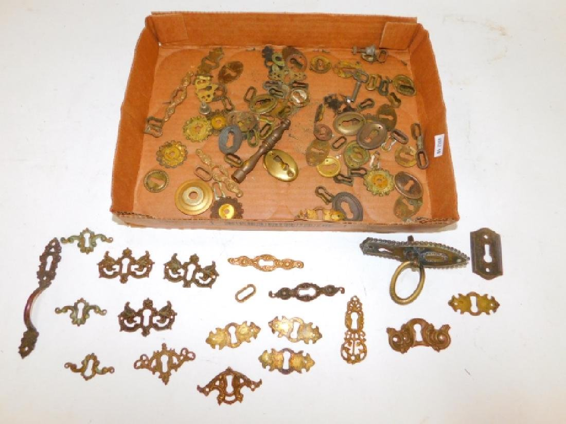 COLLECTION OF KEY HOLES