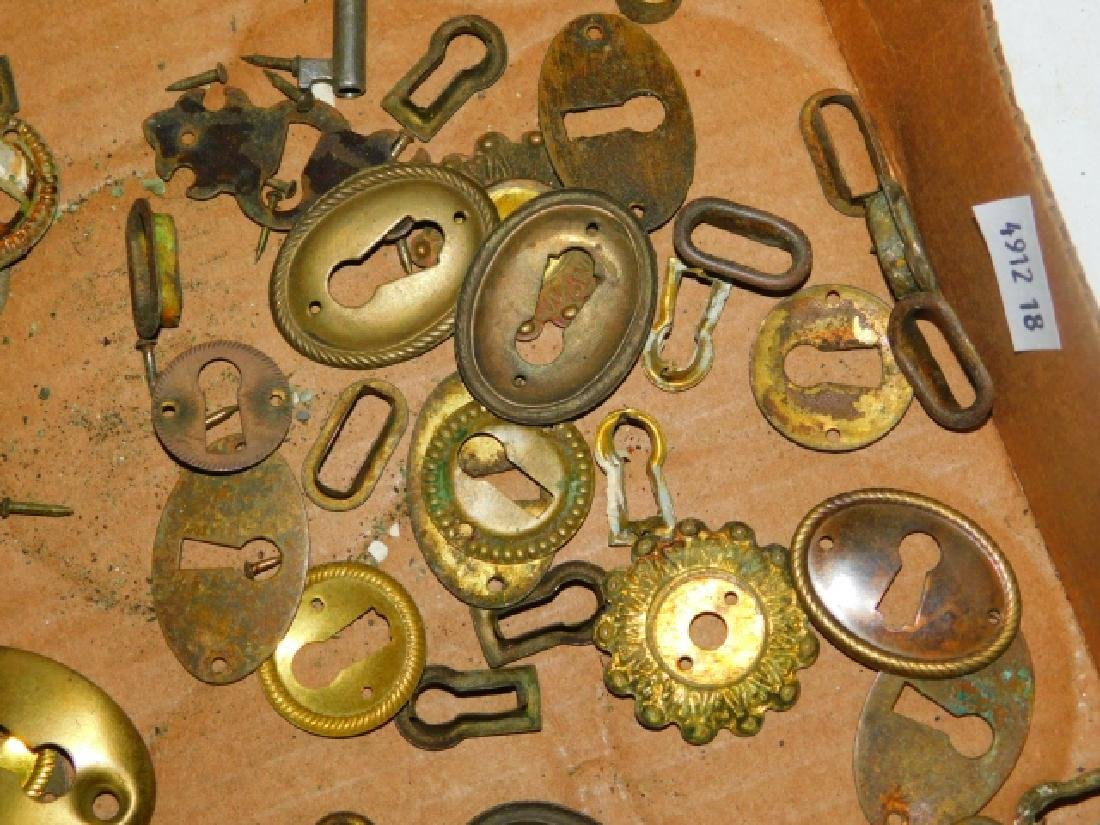 COLLECTION OF KEY HOLES - 7