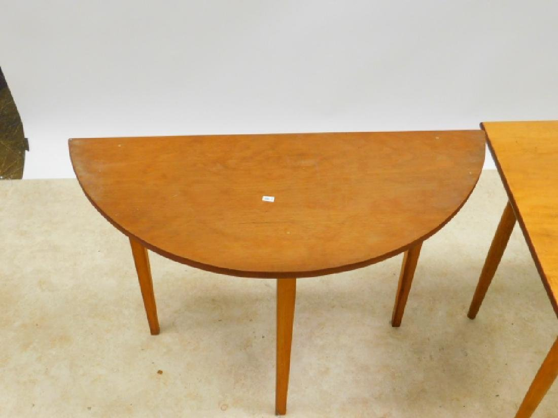 TWO PINE OCCASSIONAL TABLES - 2