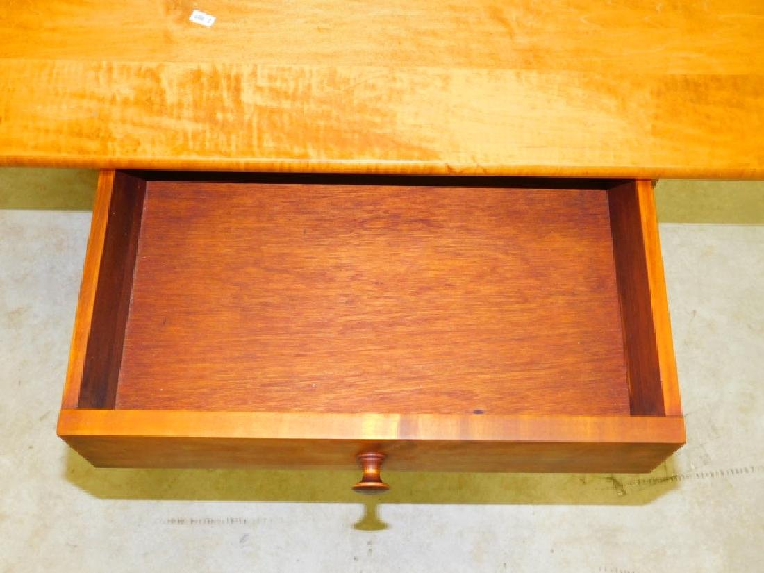 TWO PINE OCCASSIONAL TABLES - 4