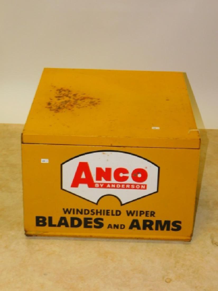 METAL ANCO WINDSHIELD WIPER CABINET