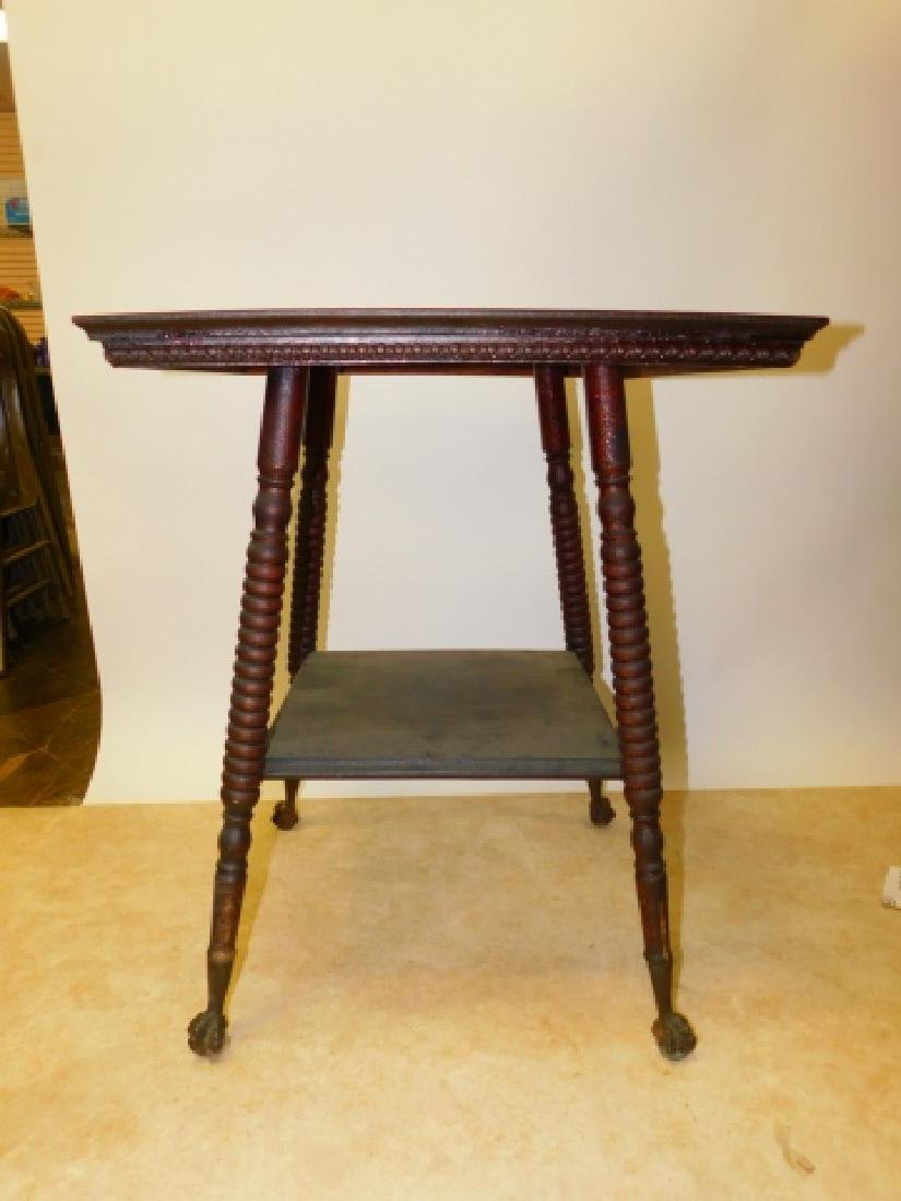 MAHOGANY LAMP TABLE - 2