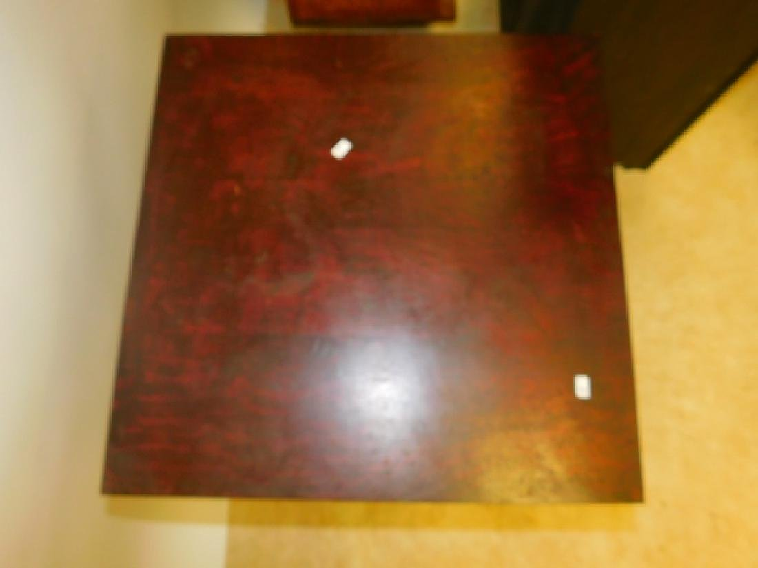 MAHOGANY LAMP TABLE - 3