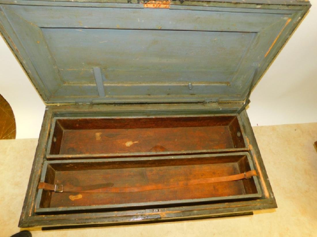 WOODEN TOOL CHEST - 2