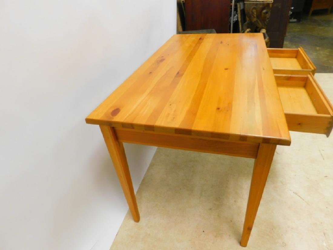 MAPLE WRITING DESK - 4