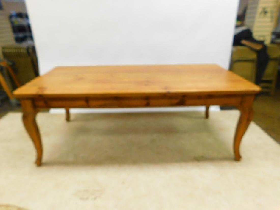 6 FOOT PINE TABLE