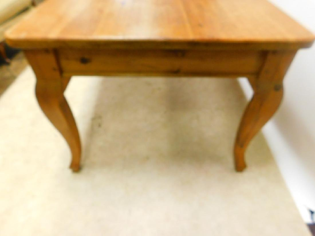 6 FOOT PINE TABLE - 2