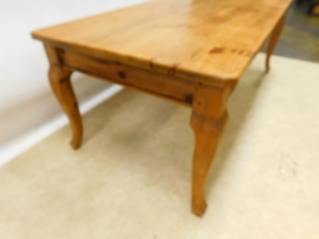 6 FOOT PINE TABLE - 3