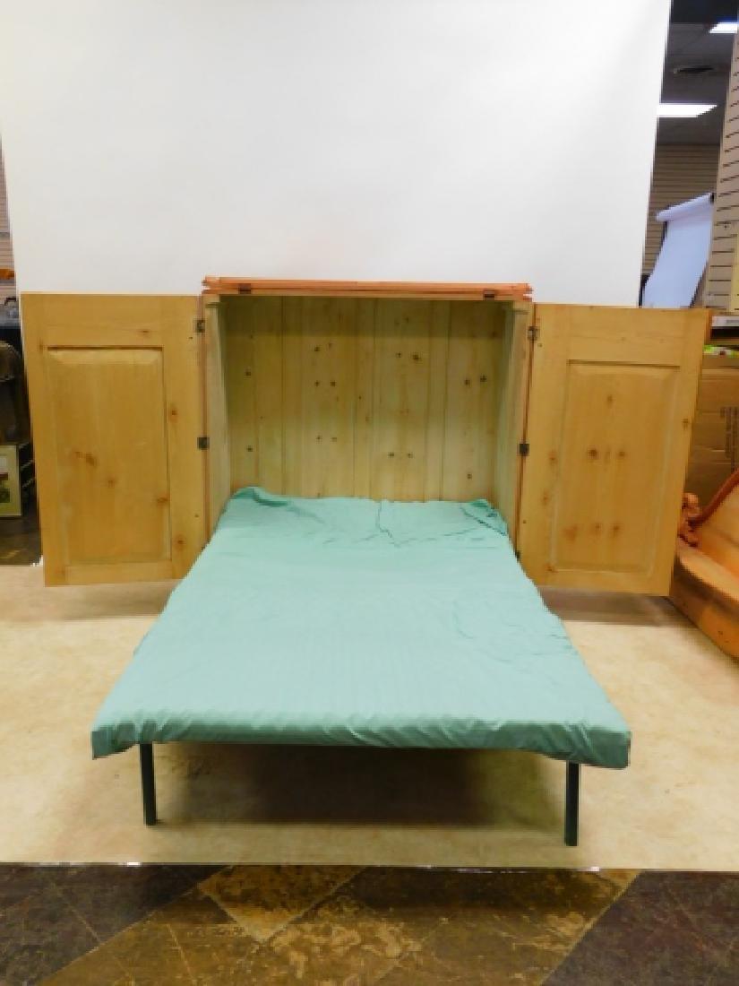 PINE MURPHY BED - 2