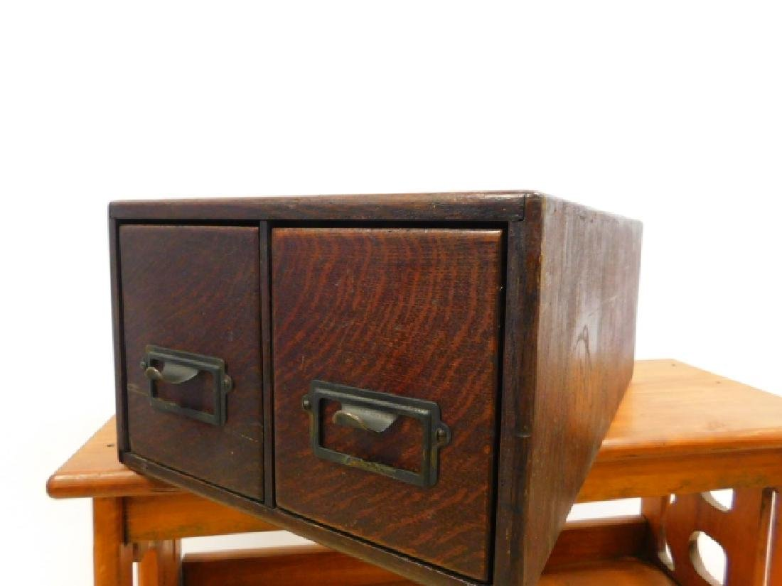 TWO DRAWER FILE BOX