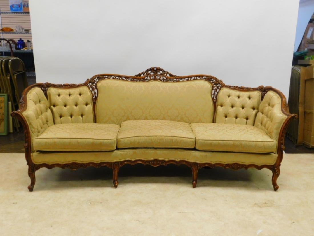 FRENCH CARVED COUCH