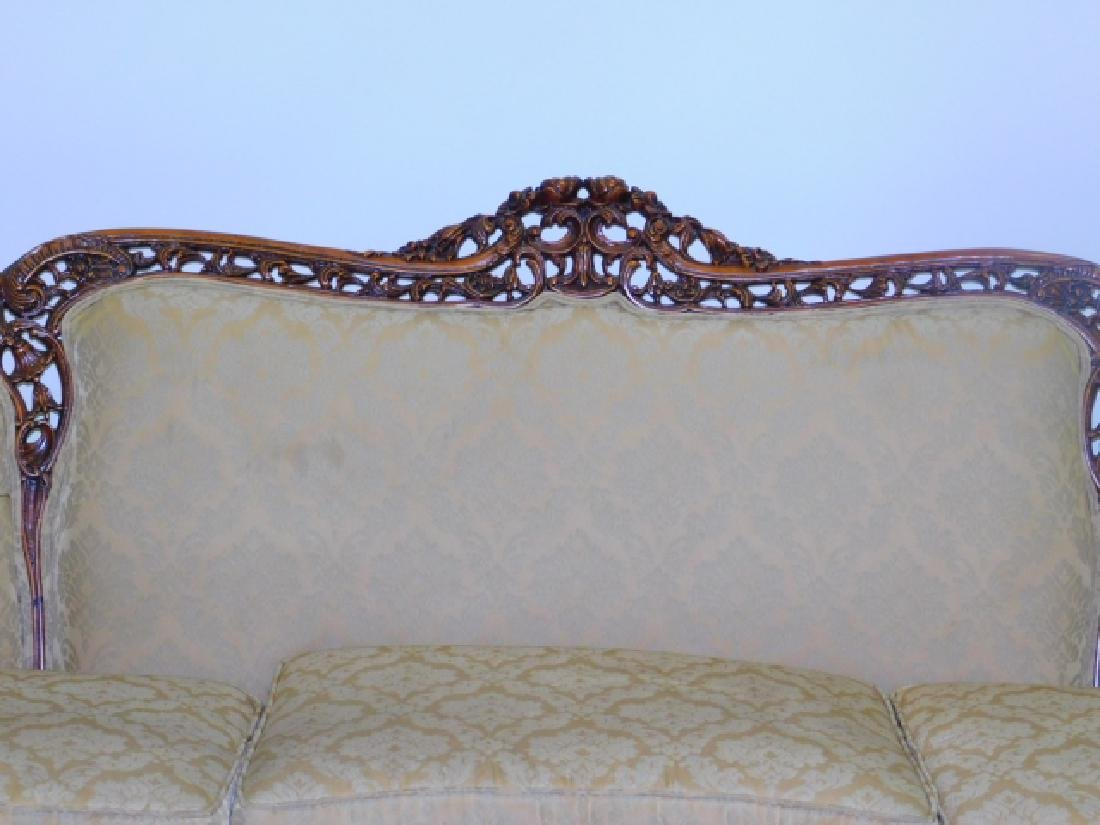 FRENCH CARVED COUCH - 2