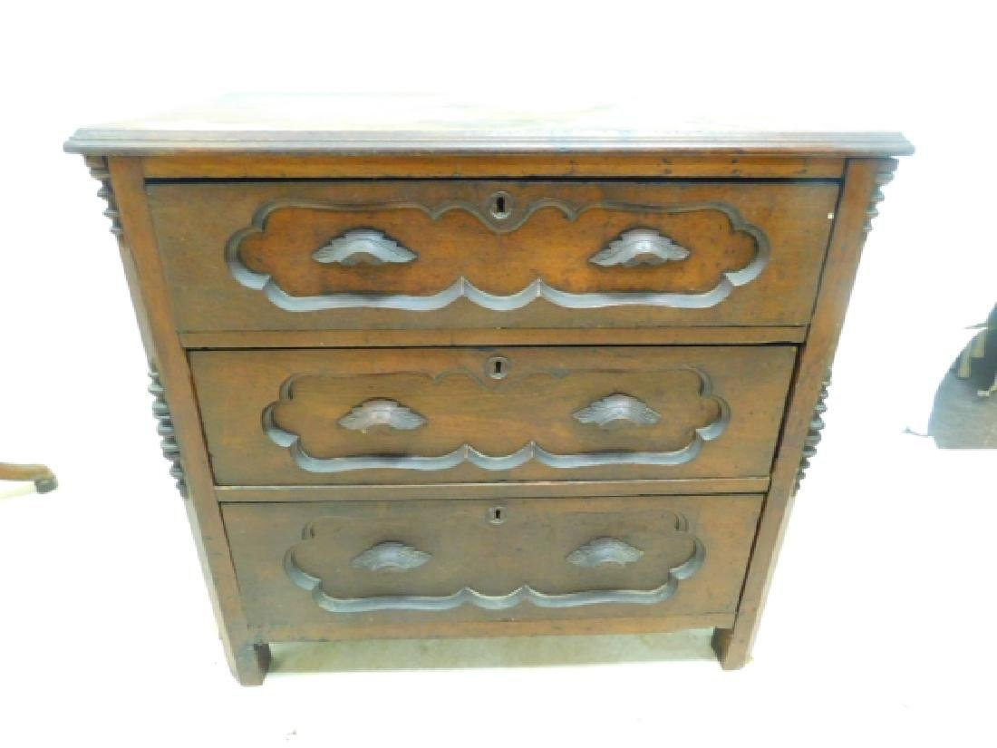WALNUT COMMODE