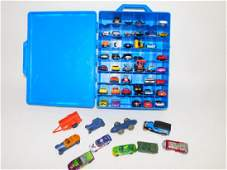 HOT WHEELS CARRYING CASE WITH HOT WHEELS