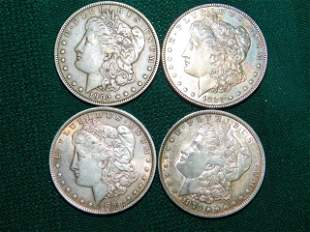 1879-1902 MORGAN SILVER DOLLARS