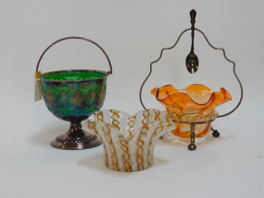 VICTORIAN AND VENETIAN ART GLASS