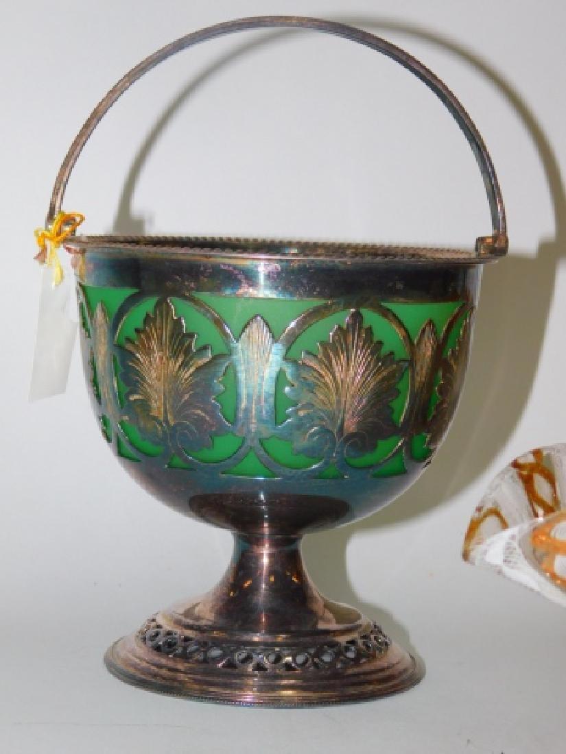 VICTORIAN AND VENETIAN ART GLASS - 2