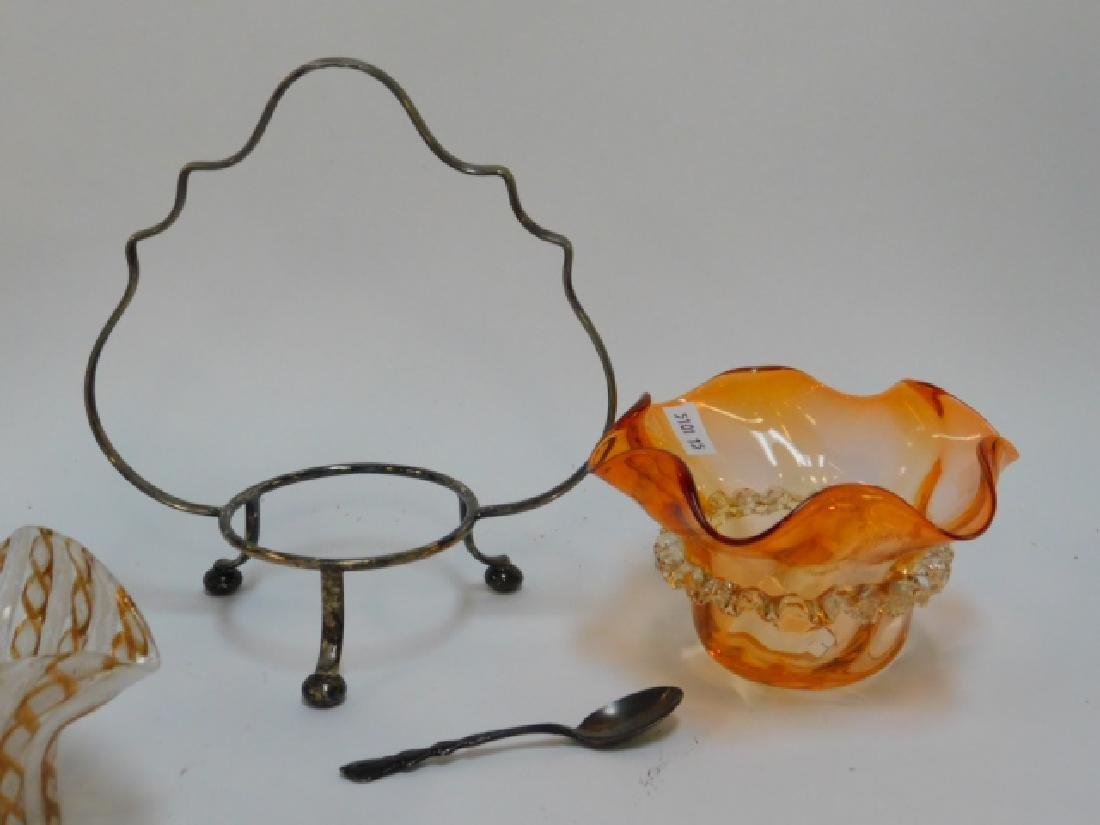 VICTORIAN AND VENETIAN ART GLASS - 5