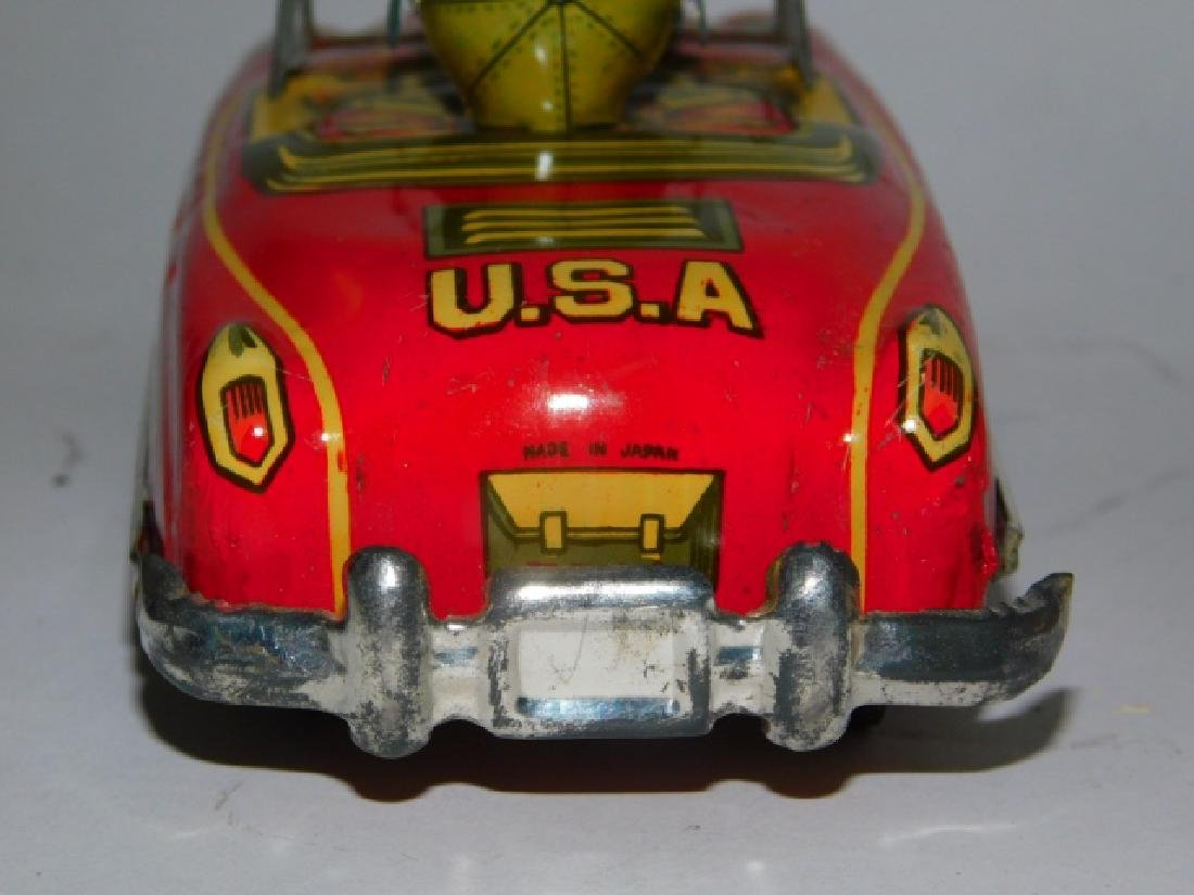 RARE JAPANESE FRICTION USA  ARMY CAR - 7