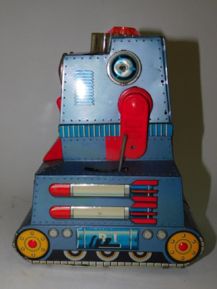 TIN ROBOTANK-Z BATTERY OPERATED TOY - 4