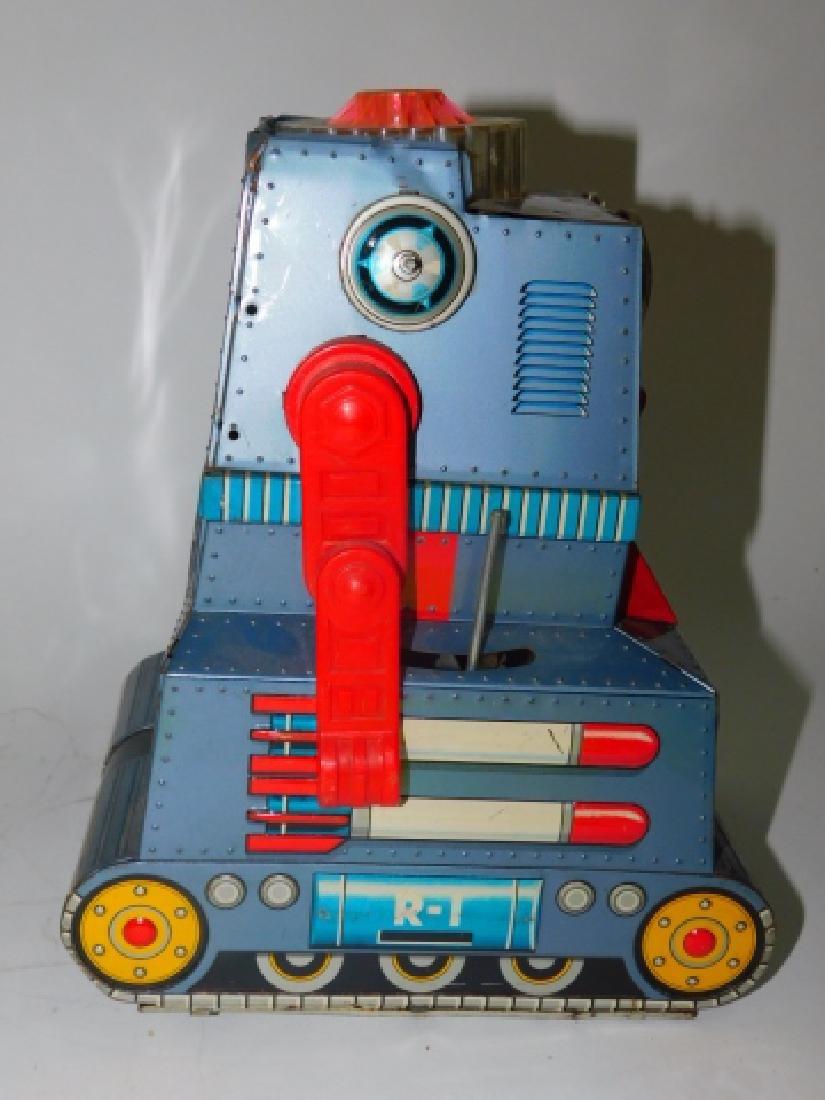 TIN ROBOTANK-Z BATTERY OPERATED TOY - 5