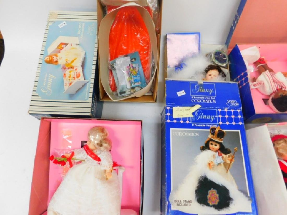 FIVE GINNY DOLLS AND ACCESSORIES - 2
