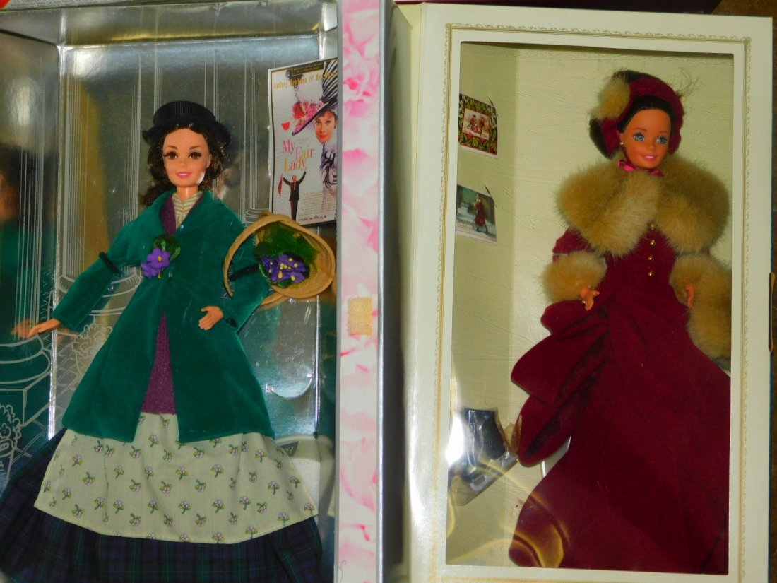SEVEN BARBIE DOLLS - 5