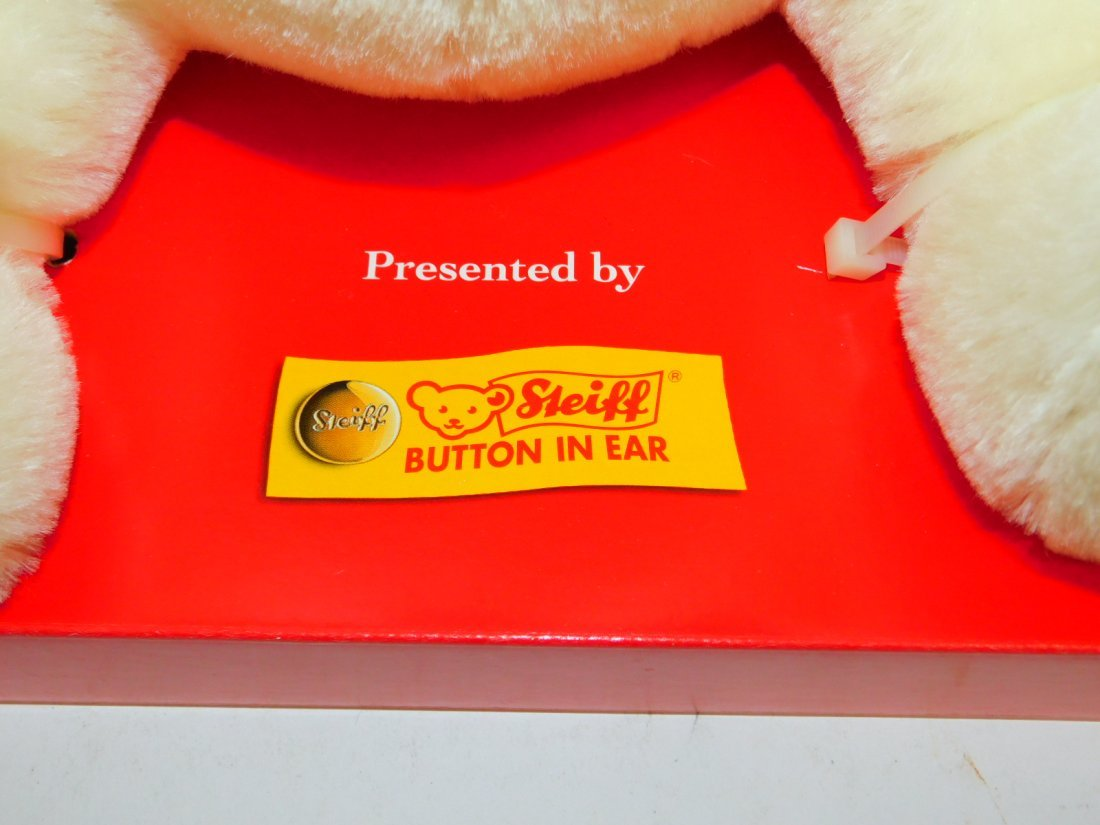 COCA-COLA MECHANICAL STEIFF TEDDY BEAR - 4