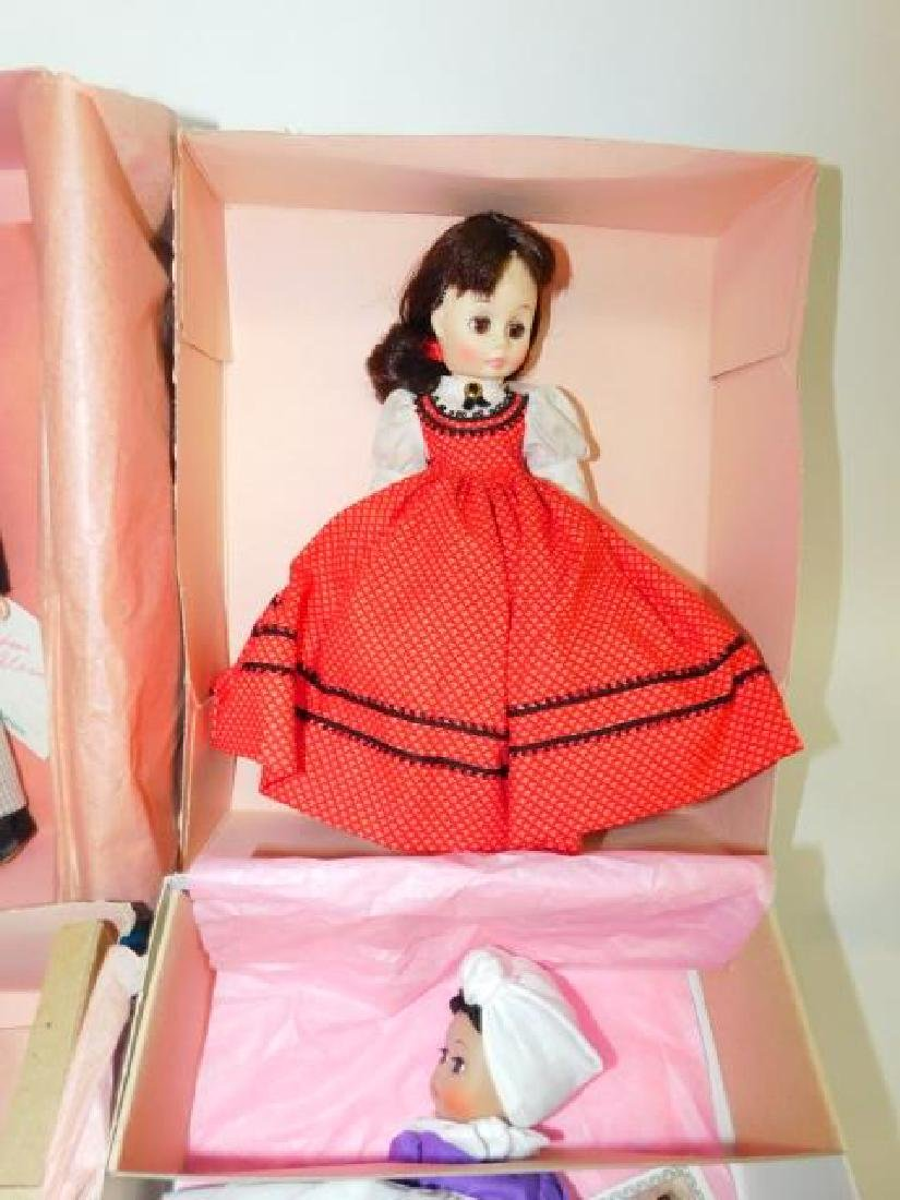 SIX MADAME ALEXANDER DOLLS - 3
