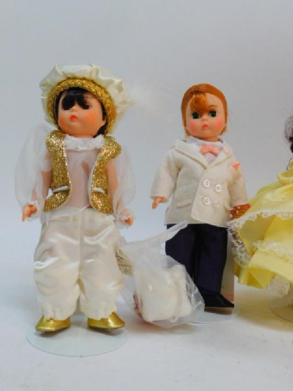 COLLECTION OF DOLLS - 3