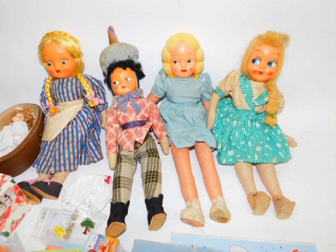 COLLECTION OF DOLLS AND TOYS - 3