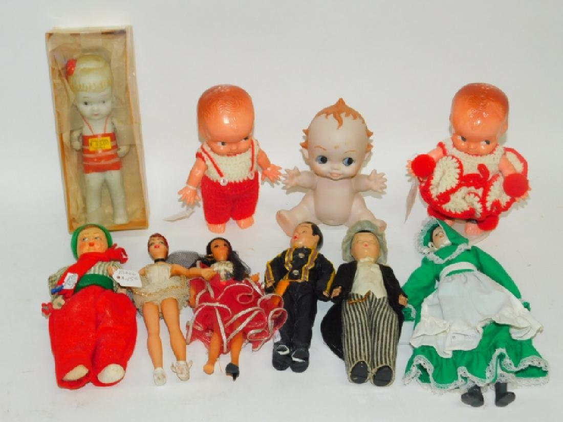 COLLECTION OF DOLLS AND FIGURES