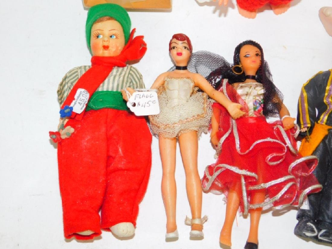 COLLECTION OF DOLLS AND FIGURES - 2