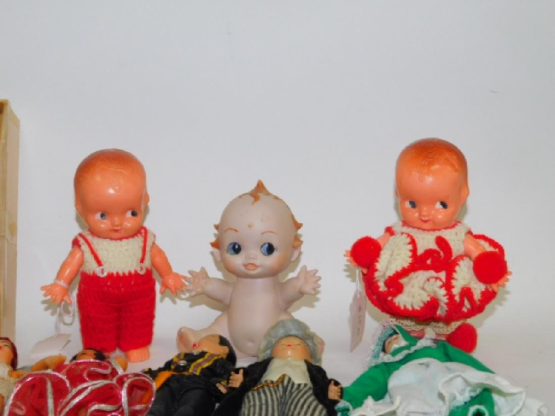 COLLECTION OF DOLLS AND FIGURES - 3