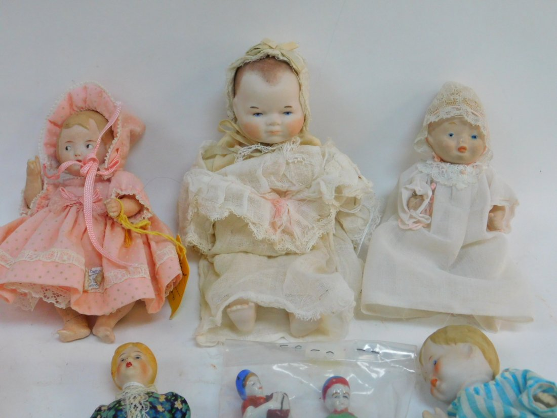 COLLECTION OF PORCELAIN AND PLASTIC DOLLS - 3