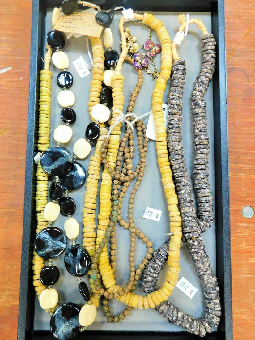 COLLECTION OF DESIGNER NECKLACES