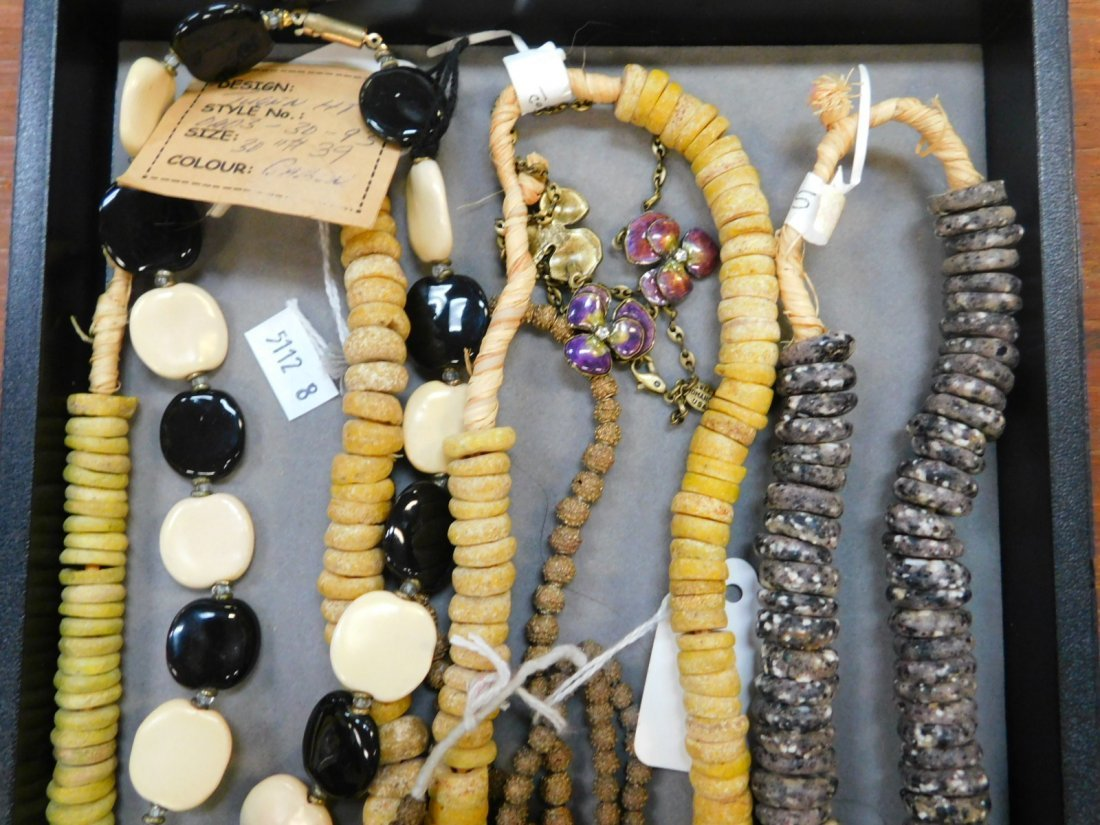 COLLECTION OF DESIGNER NECKLACES - 2