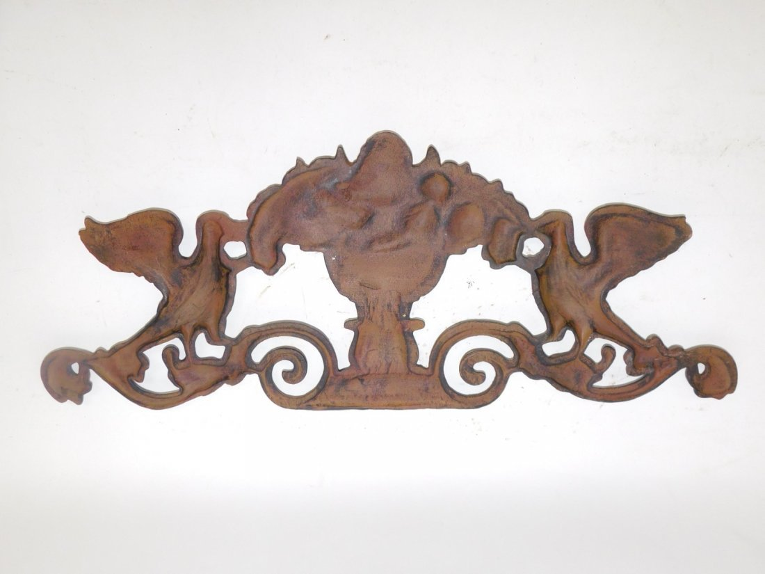 CAST IRON WALL PLAQUE - 2