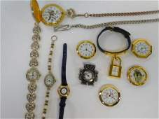 COLLECTION OF WATCHES AND WATCH PARTS