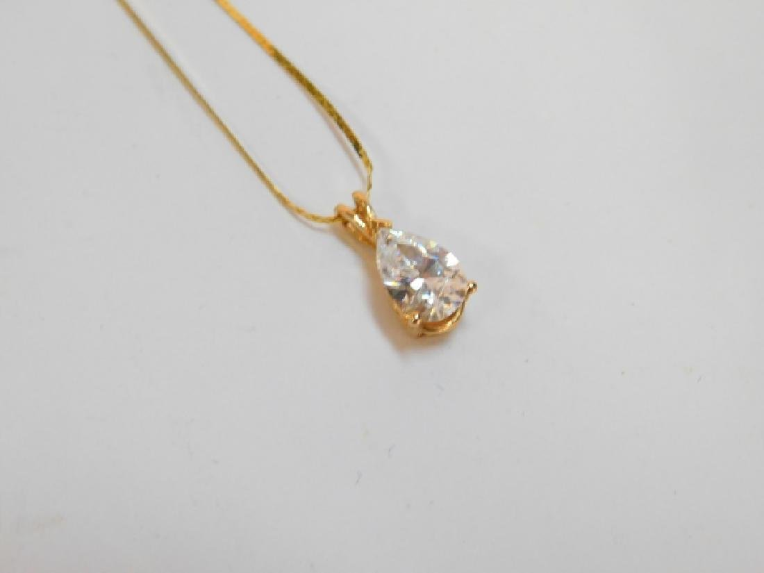 14K GOLD  PENDANT WITH CHAIN