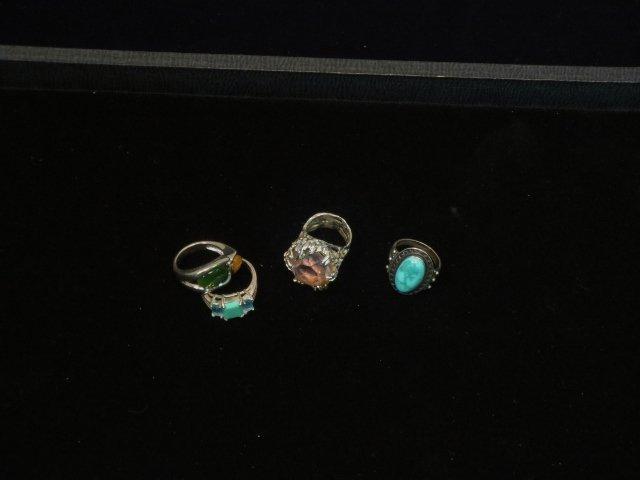 4 Sterling Rings